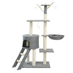 헬로망치 프리미엄 중형 고양이 직조 캣타워 W383