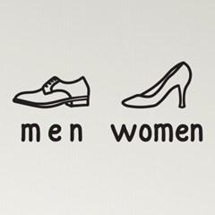 구두 men women 남자 여자 스티커