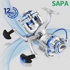 SAPA AL12볼 스피닝릴 2000 /  원터치 릴,역회전 방지