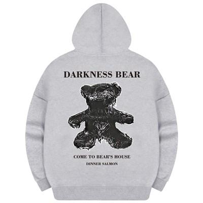 다크베어 여성후드 오버핏 티셔츠
