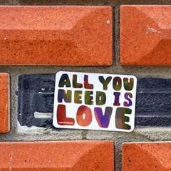[sticker] ALL YOU NEED IS LOVE 사랑 러브 스티커