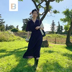 [MADE]리브드벨벳 빈티지원피스