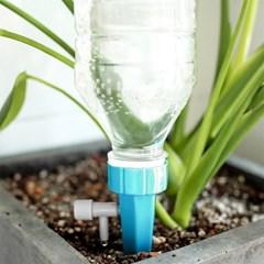 워터링 화분 자동급수기 10p(블루) 페트병 화분물주기