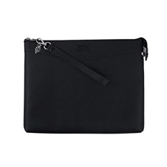 헤이플 비건레더클러치 vegan leather clutch (black- B타입)