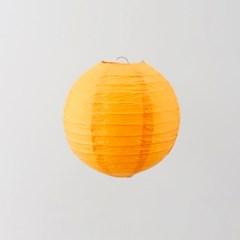종이등 모빌장식 20cm (오렌지)