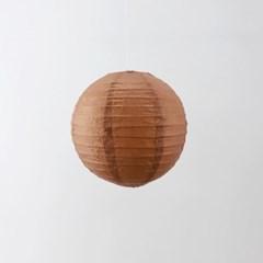 종이등 모빌장식 20cm (브론즈)
