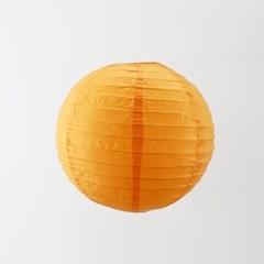 종이등 모빌장식 30cm (오렌지)