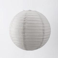 종이등 모빌장식 40cm (회색)