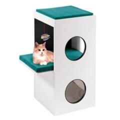 고양이 놀이터 퍼플라스트 캣타워 블랑코 고양이장난감 고양이집
