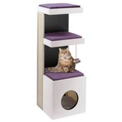 고양이 놀이터 퍼플라스트 캣타워 타이거 고양이장난감 고양이집