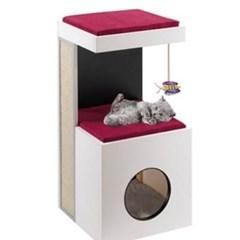 고양이 놀이터 퍼플라스트 캣타워 디아블로 고양이장난감 고양이집