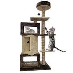 고양이 놀이터 캣타워 스크래쳐 INT 009 고양이장남감 고양이집