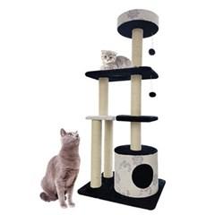 고양이 놀이터 캣타워 스크래쳐 INT 008 고양이장난감 고양이집