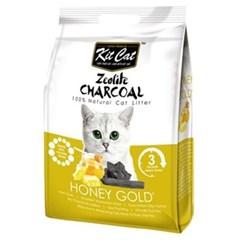 고양이 배변모래 킷캣 허니골드향 4kg 두부모래 고양이모래