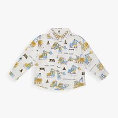 포크레인 셔츠 ID3WS975B