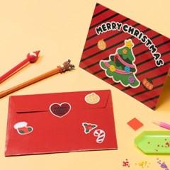 크리스마스 보석십자수 카드 만들기 키트 성탄절 선물
