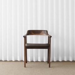 [헤리티지월넛] AO형 의자 베이지