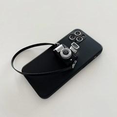 리얼 클래식 카메라 스트랩 TPU 케이스