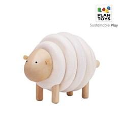 플랜토이즈 원목장난감 교육놀이 실 꿰기 놀이 양 만들기 5150