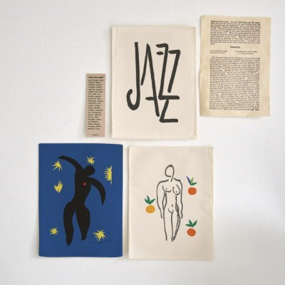 미니 포스터 / 패브릭 포스터_Henri Matisse/마티스 B (4종세트)