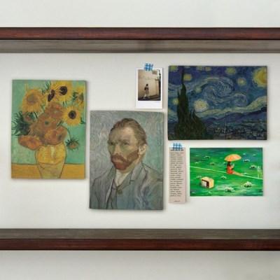 미니 포스터 / 패브릭 포스터_Van Gogh/반고흐 A (4종세트)
