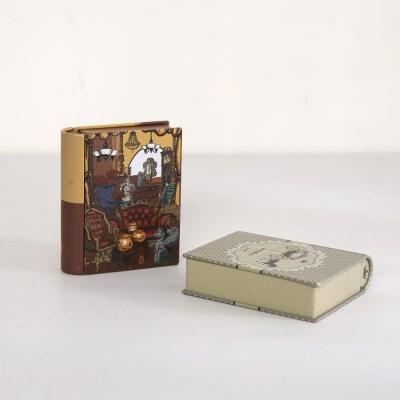 미니 양철 책 모형 1P