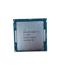 (인텔) 코어i5-7세대 7400 카비레이크 중고