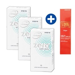 [라이프스타일] 안셀콘돔 제로도트 콘돔 10P 3set 30P구성