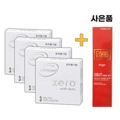 [라이프스타일] 안셀콘돔 제로도트 콘돔 3P 4set 12P구성