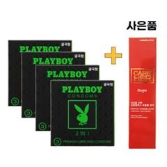 [플레이보이] 3IN1 굴곡형 콘돔 3P 4set 12P구성