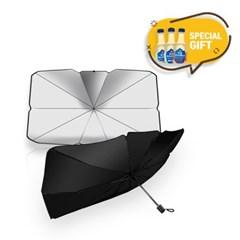 자동차 UV차단 썬바이저 우산형차광막 탄산수 3P세트