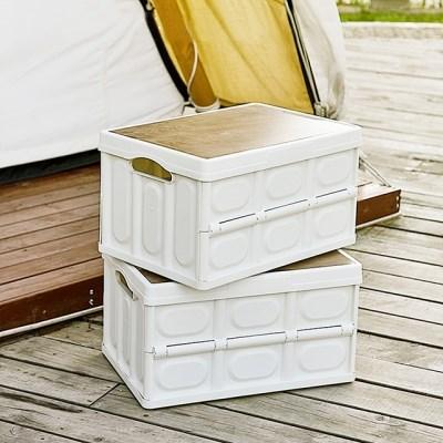 캠핑 폴딩 박스 차박 테이블 56L