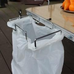 1+1 캠핑 행어용 쓰레기봉투 걸이 논슬립 비닐거치대