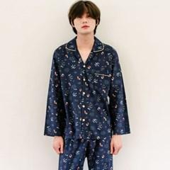 남자아이 귀여운 캐릭터 주니어잠옷 조이플 순면 국산 긴팔홈웨어