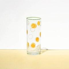 두들링_스마일 유리잔 컵