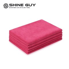 샤인가이 다용도 세차 타월 5P 40x60 핑크