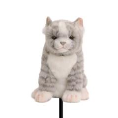 8265 고양이 동물 우드커버/골프 클럽 헤드 커버