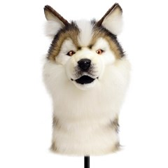 8277 허스키 강아지 동물 드라이버커버/골프 클럽 헤드 커버