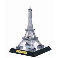 빅 메탈퍼즐+밑판 - 에펠탑 (실버)