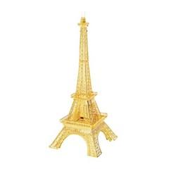 미니 메탈퍼즐 - 에펠탑 (골드)
