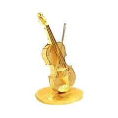 미니 메탈퍼즐 - 바이올린 (골드)