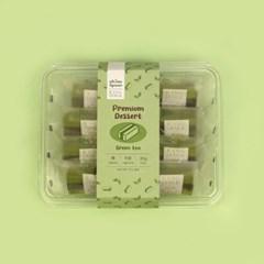 오마이스푼 랑떡 녹차맛 35g x 8개입 / 온가족 디저트 카스테라떡