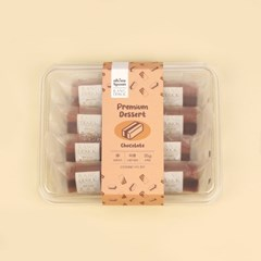오마이스푼 랑떡 쵸코맛 35g x 8개입 / 온가족 디저트 카스테라떡