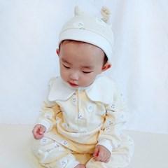 [메르베] 꼬마고스트 신생아 유아 내복/내의/아기실내복_겨울용
