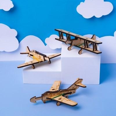 [고무줄 비행기총 만들기] 고무줄로 날리는 비행기 총 장난감