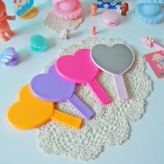 컬러풀 하트 손거울