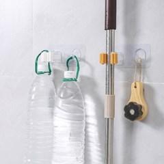 청소도구 우산 꽂이 홀더 센스있는 멀티걸이 4개세트