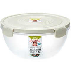 코멕스 바이오킵스 샐러드 밀폐 믹싱볼 2.5L