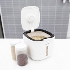 모던 원터치 밀폐 주방 쌀통 5kg