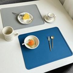 디아르 실리콘식탁매트 식탁 테이블매트 방수 북유럽 1인 패드 깔개
